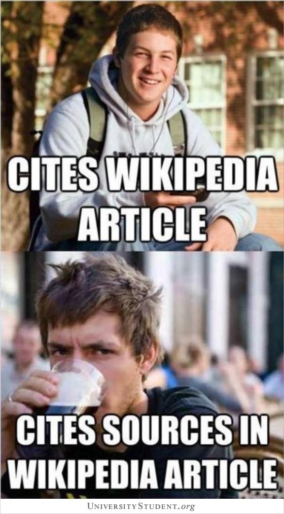 Cites Wikipedia article. Cites sources in Wikipedia artcile.
