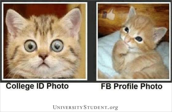 College ID photo FB ID photo