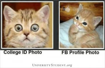 College ID photo FB ID photo