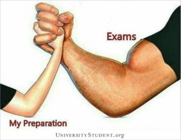 Exams. My preparation.